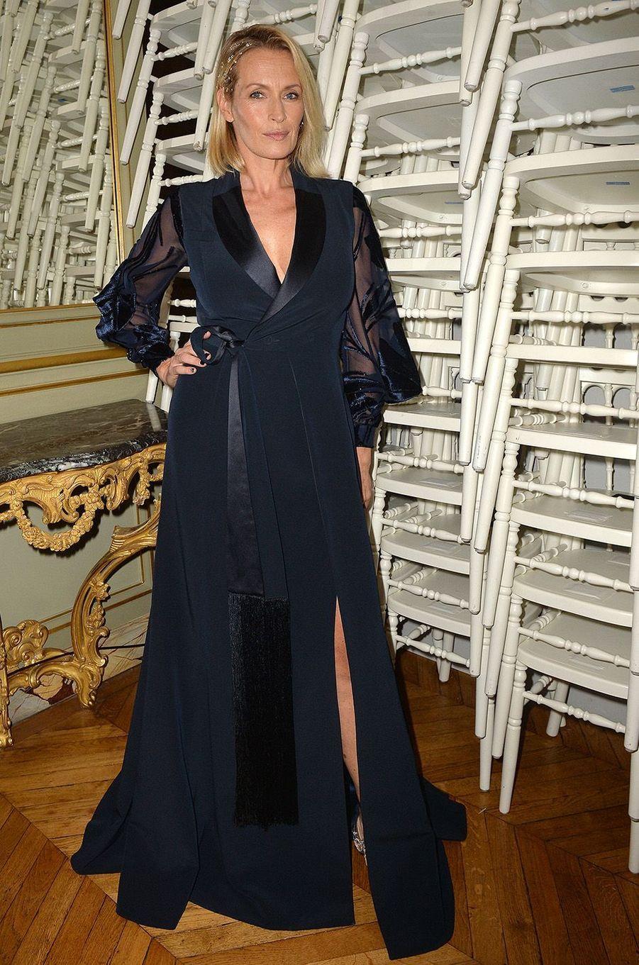 Estelle à la Fashion Week de Paris en 2016