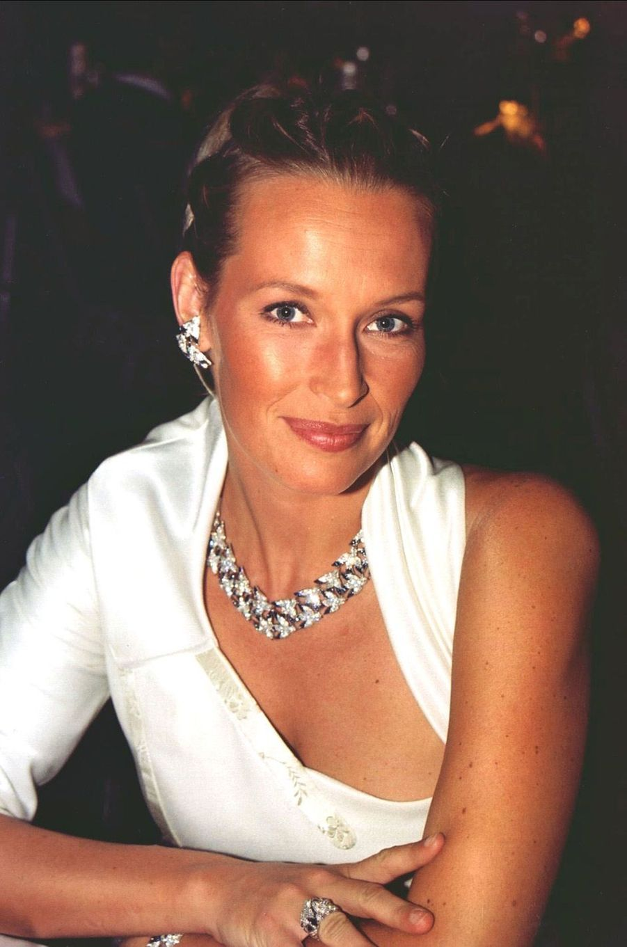 Estelle à Monaco en 2000