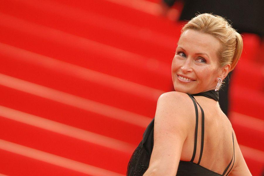 Estelle au Festival de Cannes en 2007