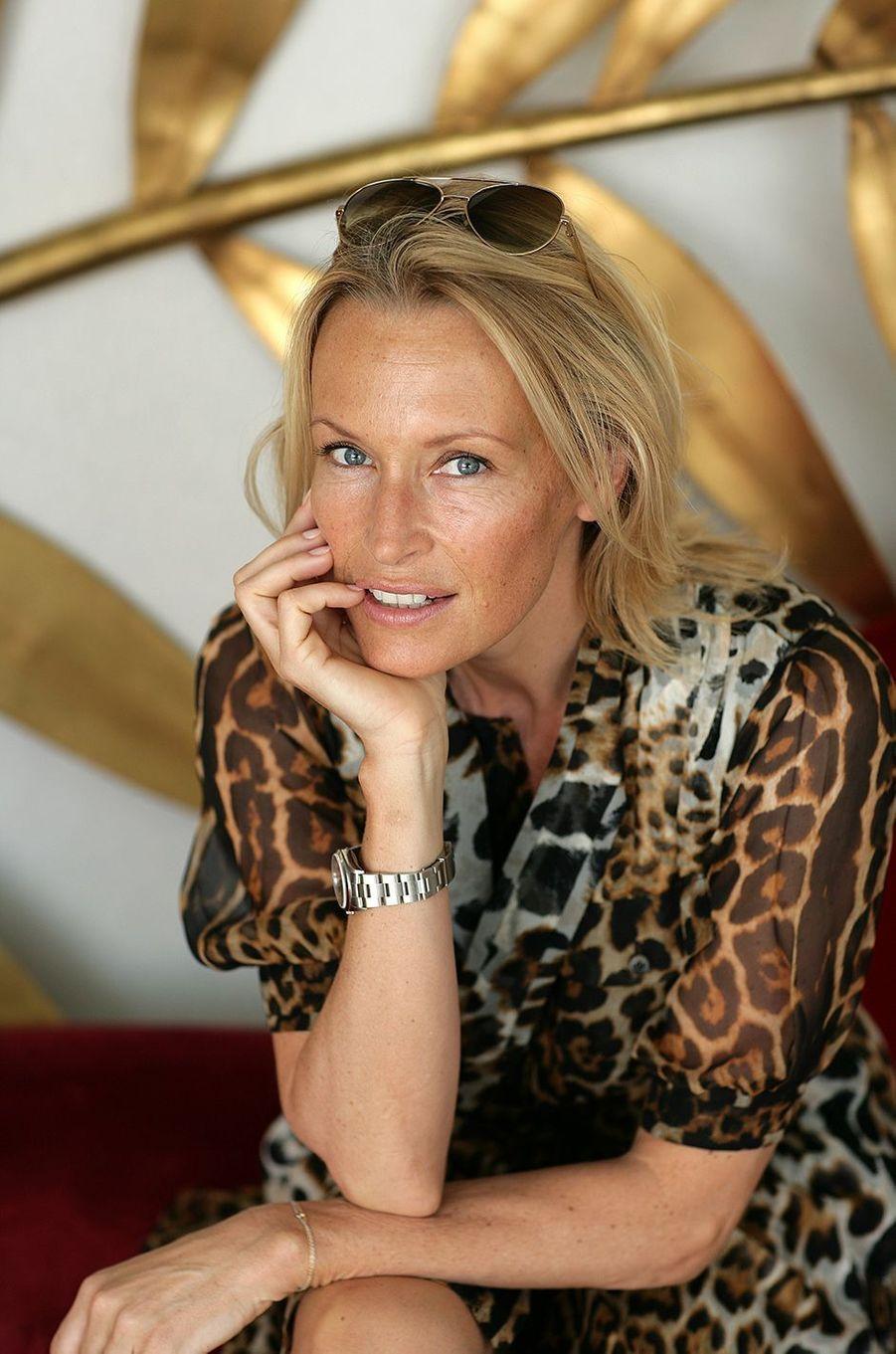 Estelle au Festival de Cannes en 2008