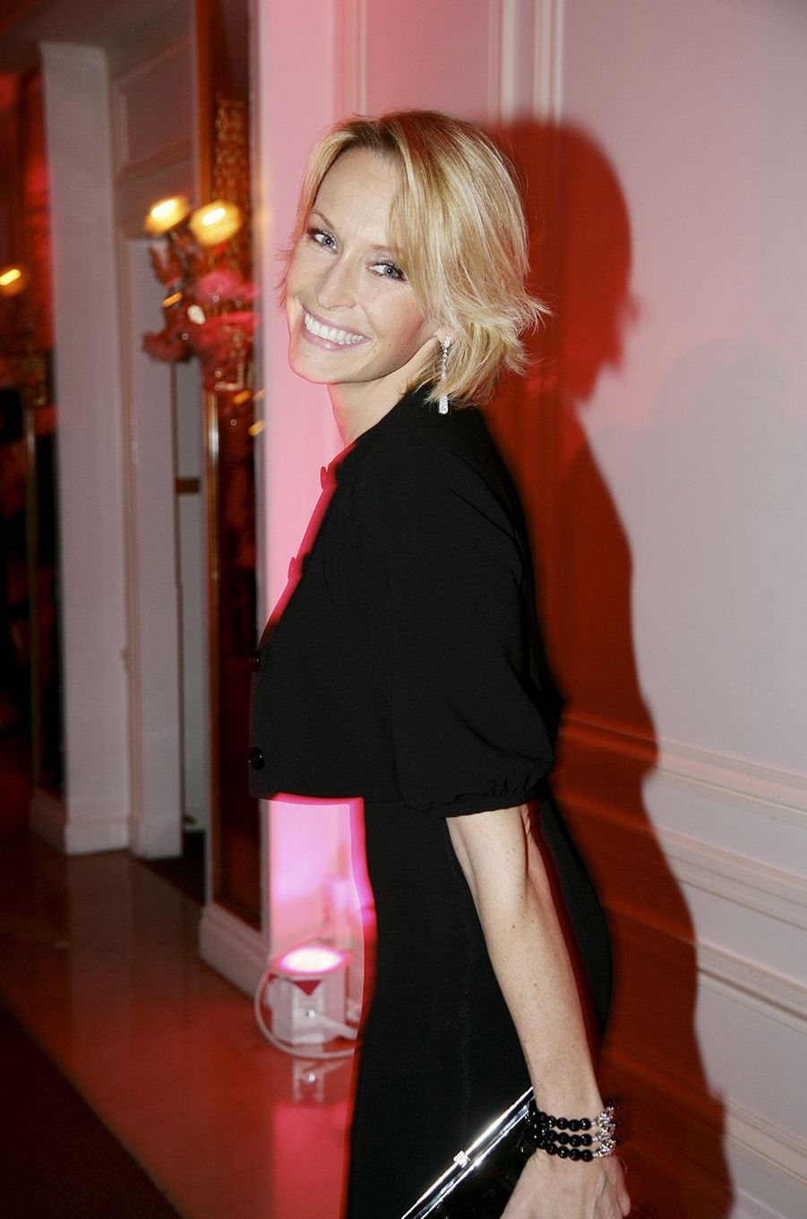 Estelle Lefébure à la soirée Sidaction en 2008