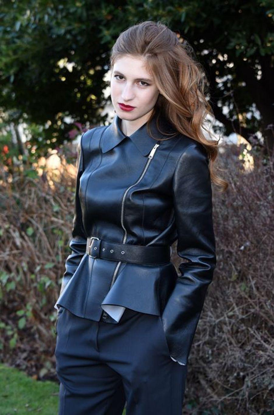 Agathe Bonitzer au défilé Christian Dior