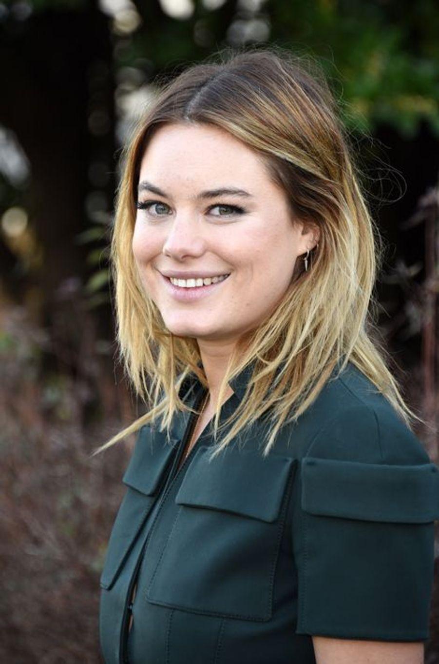 Camille Rowe-Pourcheresse au défilé Christian Dior