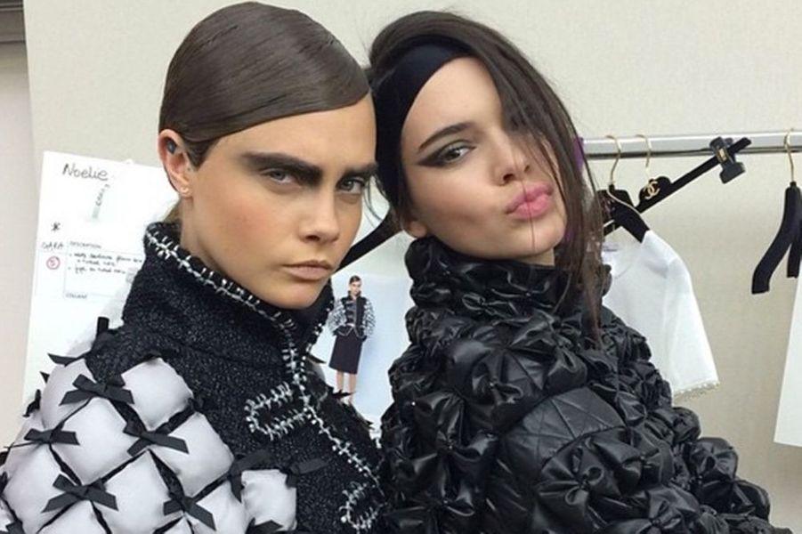 Dans les coulisses du défilé Chanel aux côtés de Kendall Jenner