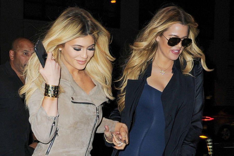 Kylie Jenner et Khloé Kardashian