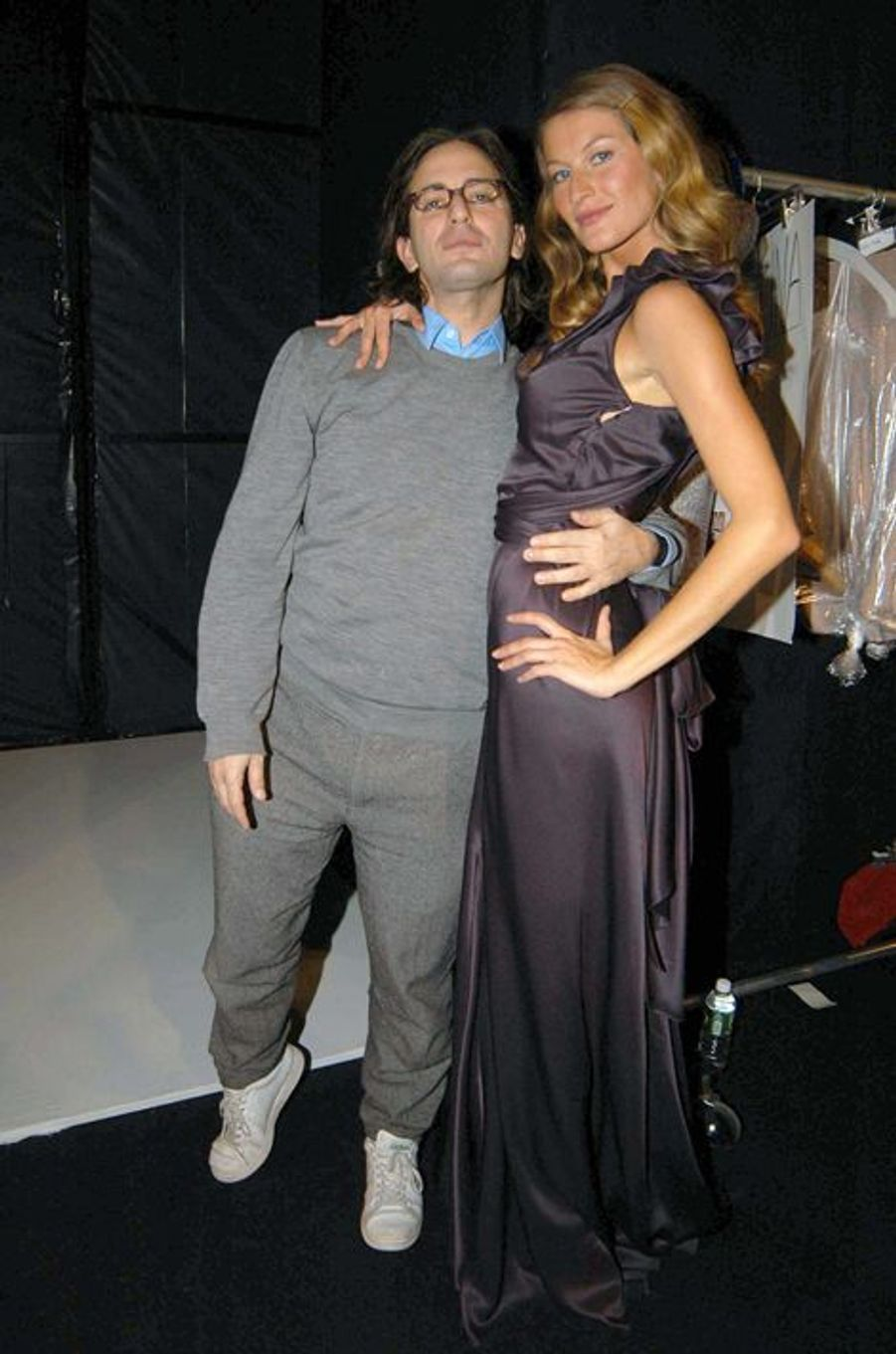 Au défilé Marc Jacobs à New York pour la collection Automne-Hiver 2004