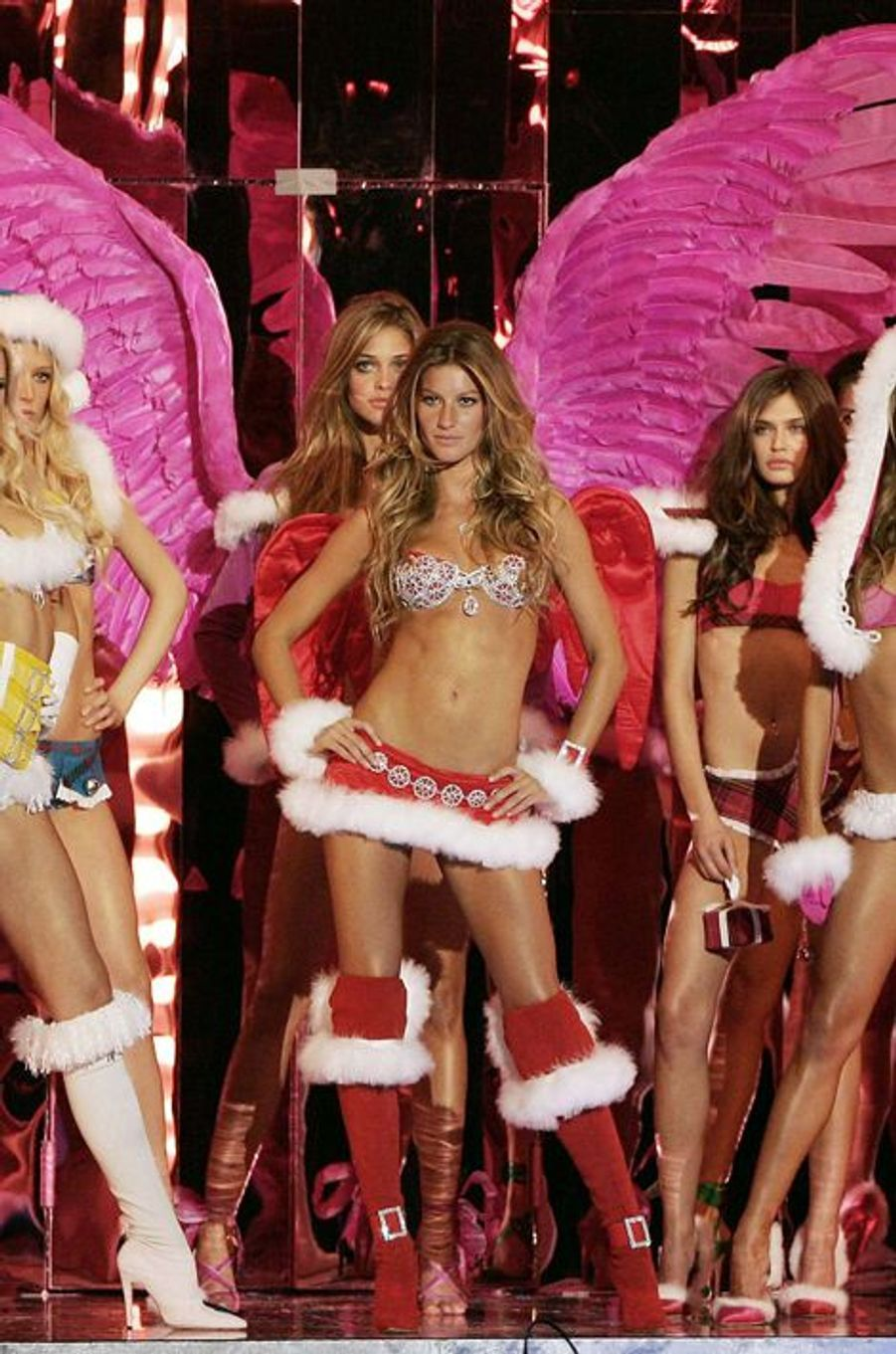 Au défilé Victoria's Secret de New York en novembre 2005