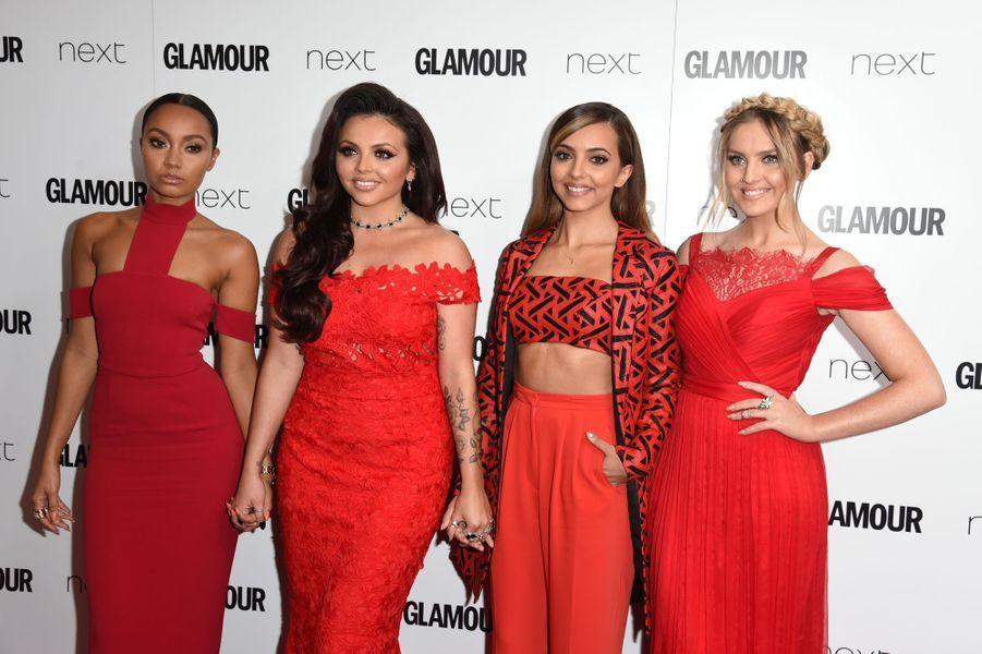 Le groupe Little Mix à Londres le 2 juin 2015