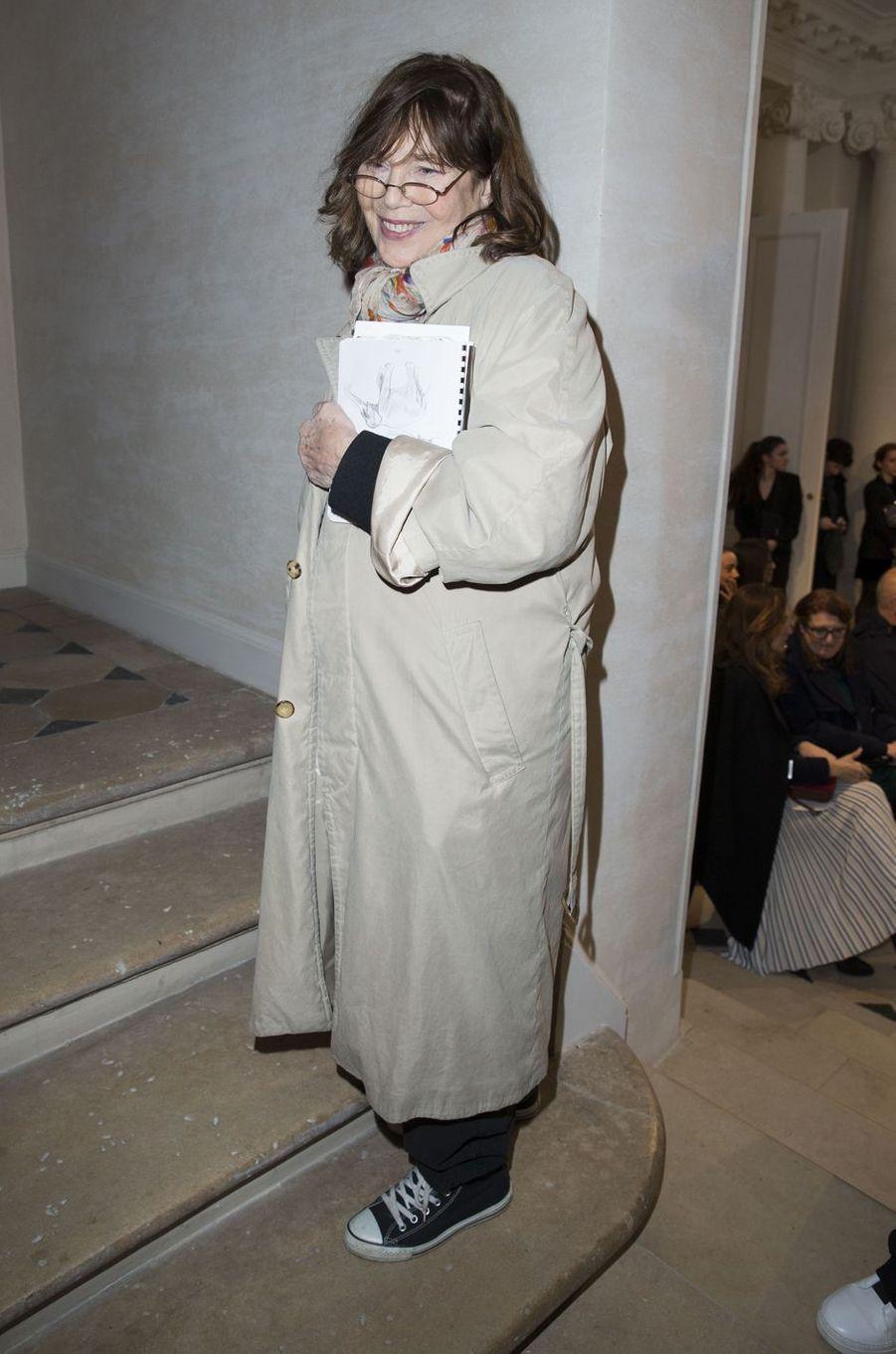 Jane Birkin à Paris le 7 mars 2016