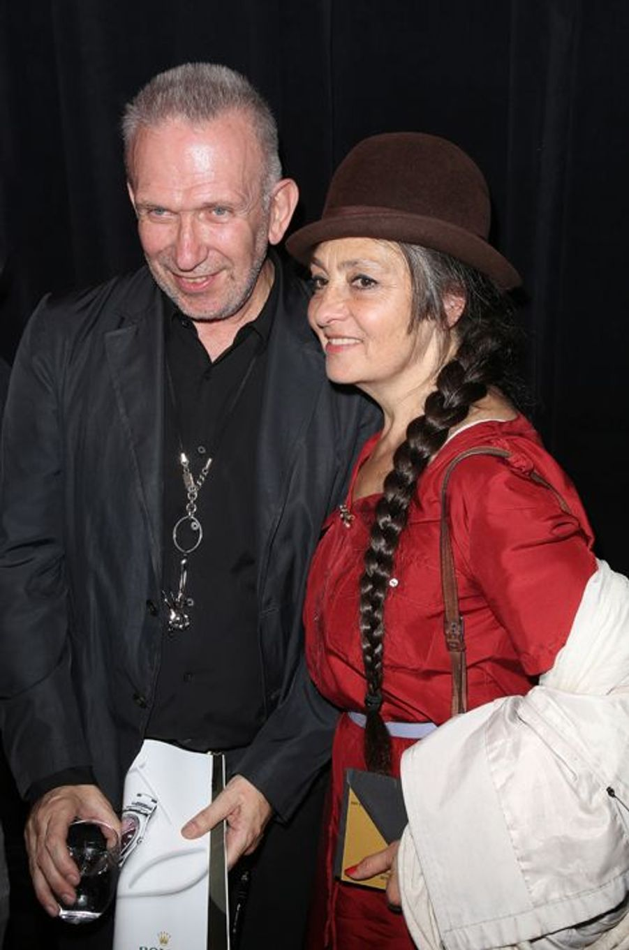 Jean Paul Gaultier et Catherine Ringer