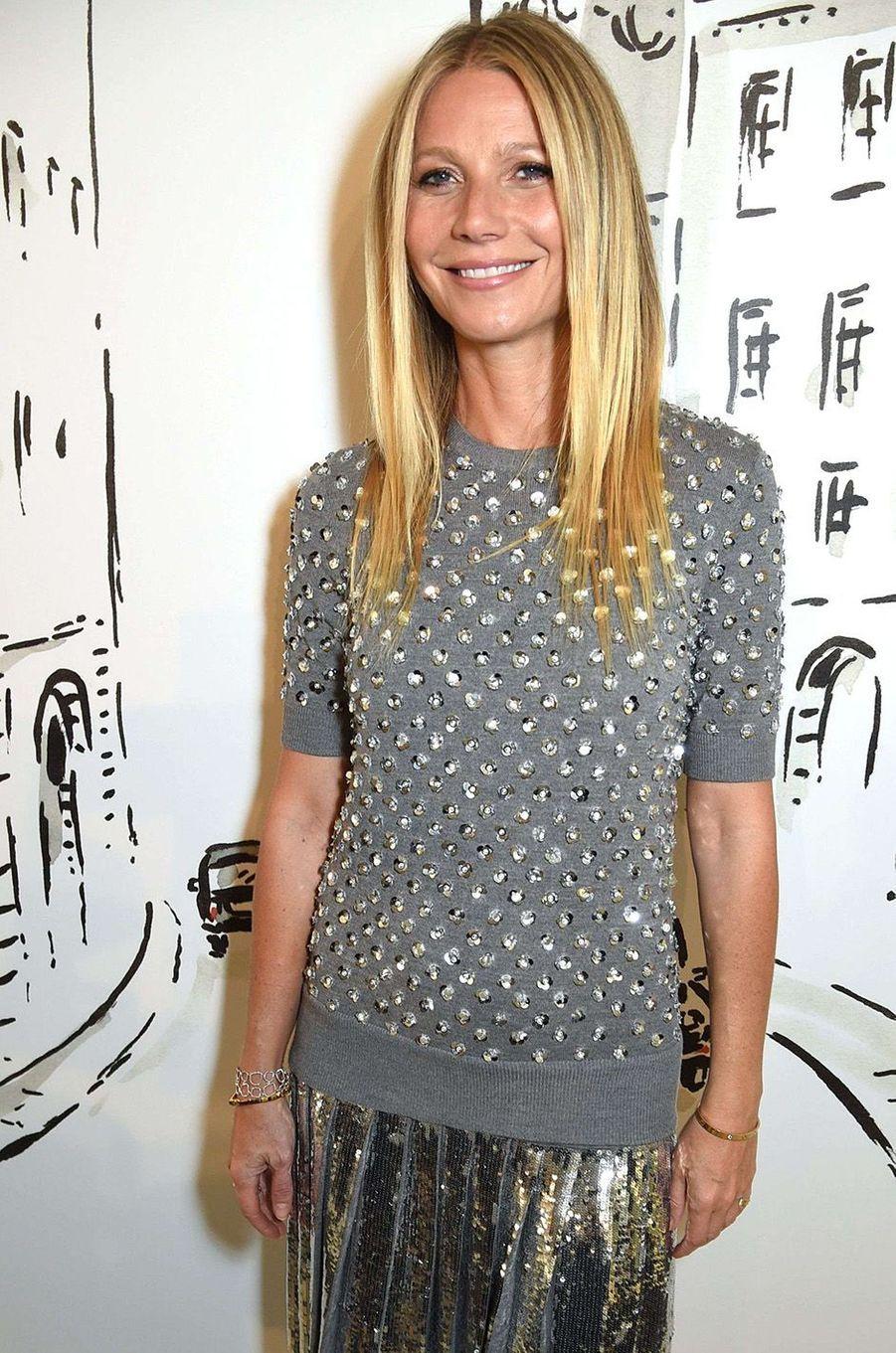Gwyneth Platrow, la grande guru des accros du bien-être.