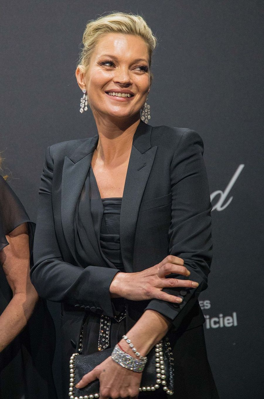 Kate Moss au gala Chopard, à Cannes, le 16 mai 2016.