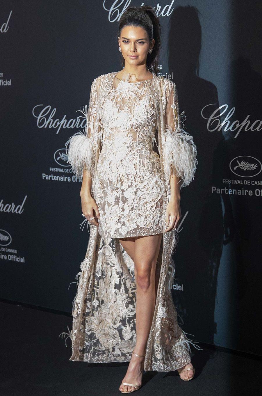 Kendall Jenner au gala Chopard, à Cannes, le 16 mai 2016.