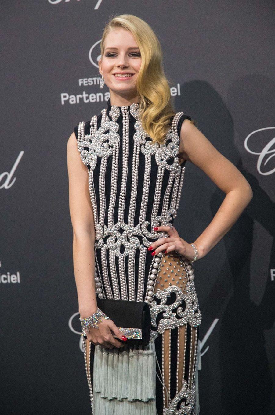 Lottie Moss au gala Chopard, à Cannes, le 16 mai 2016.