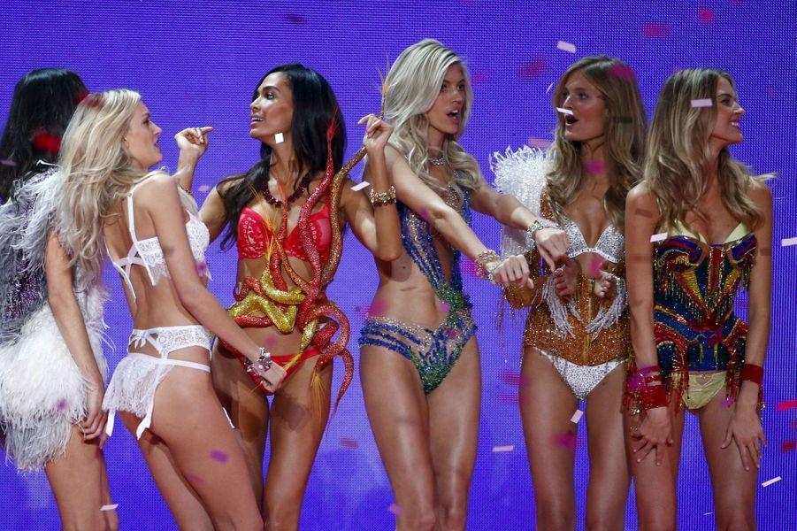 Les anges sur scène