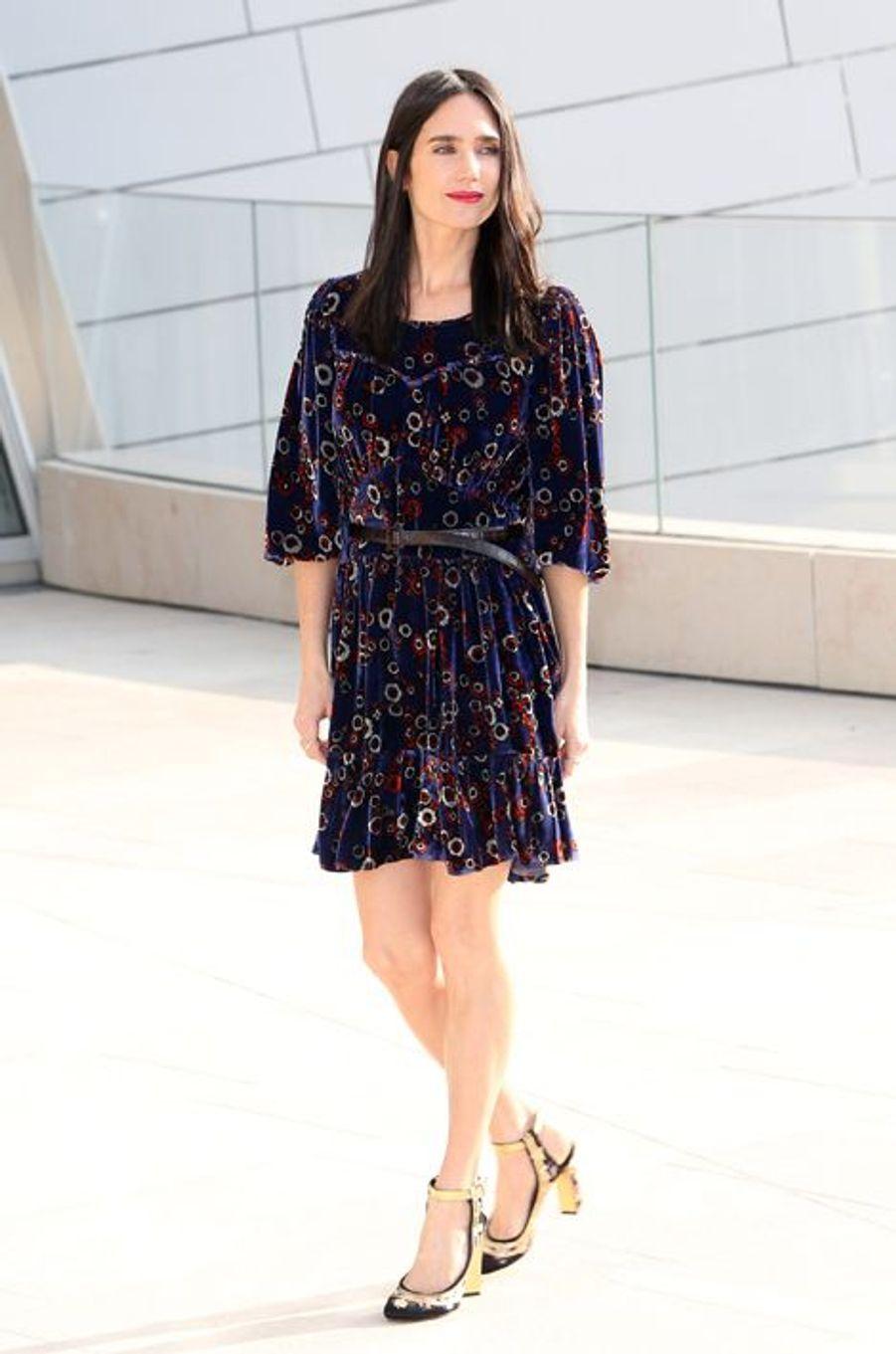 Jennifer Connelly au défilé Louis Vuitton