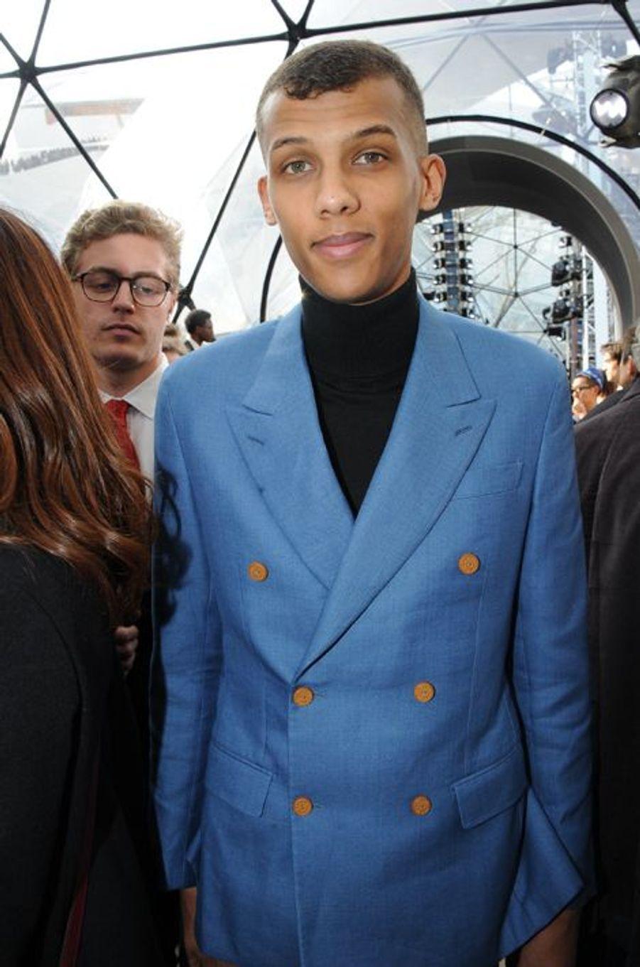 Stromae au défilé Louis Vuitton