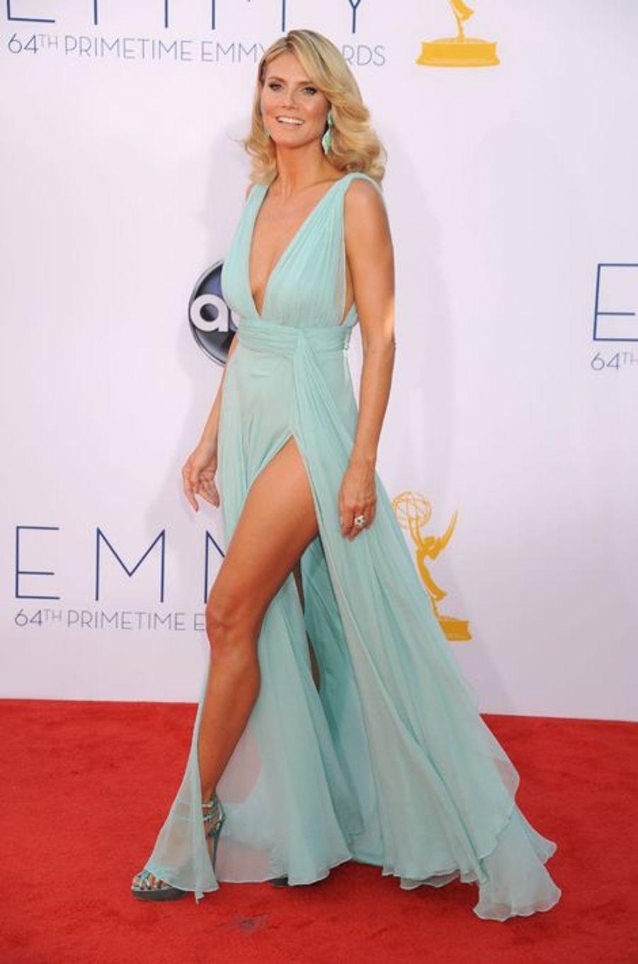 À la soirée des Emmy Awards, en septembre 2012