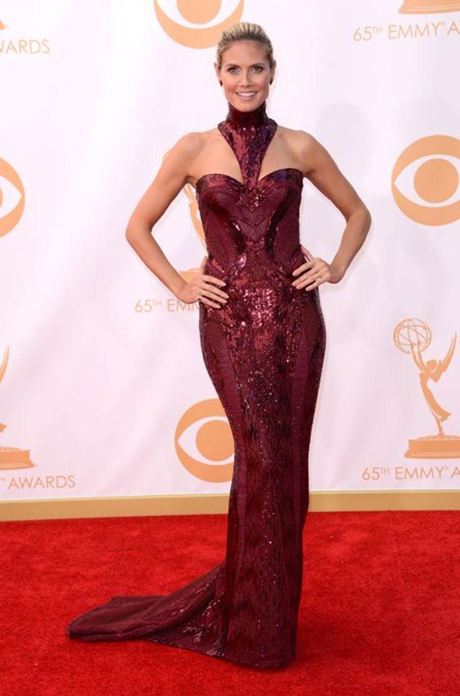 À la soirée des Emmy Awards en septembre 2013