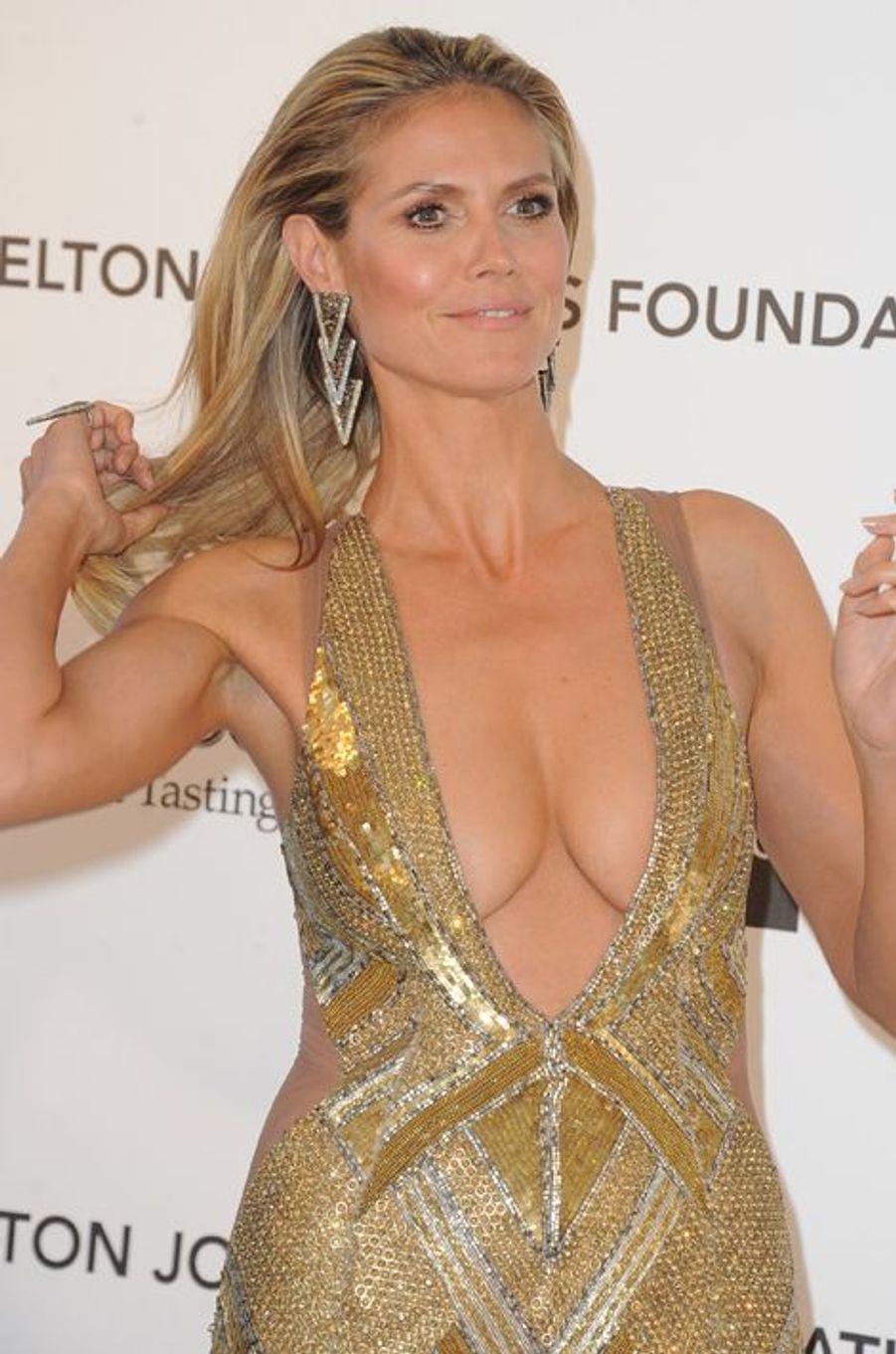 """Au gala """"Elton John AIDS Foundation"""", en février 2013"""