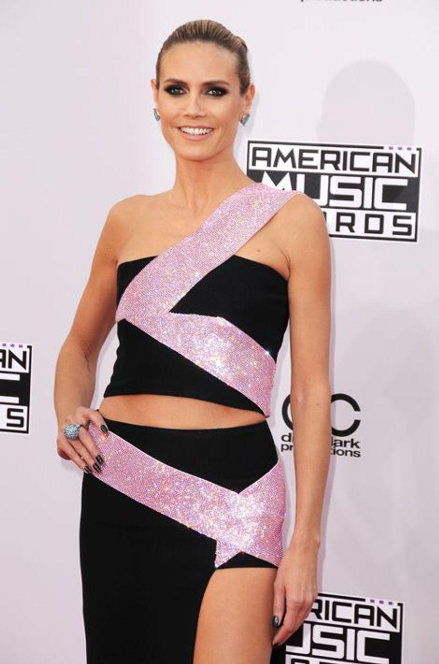 Aux American Music Awards, en novembre 2014