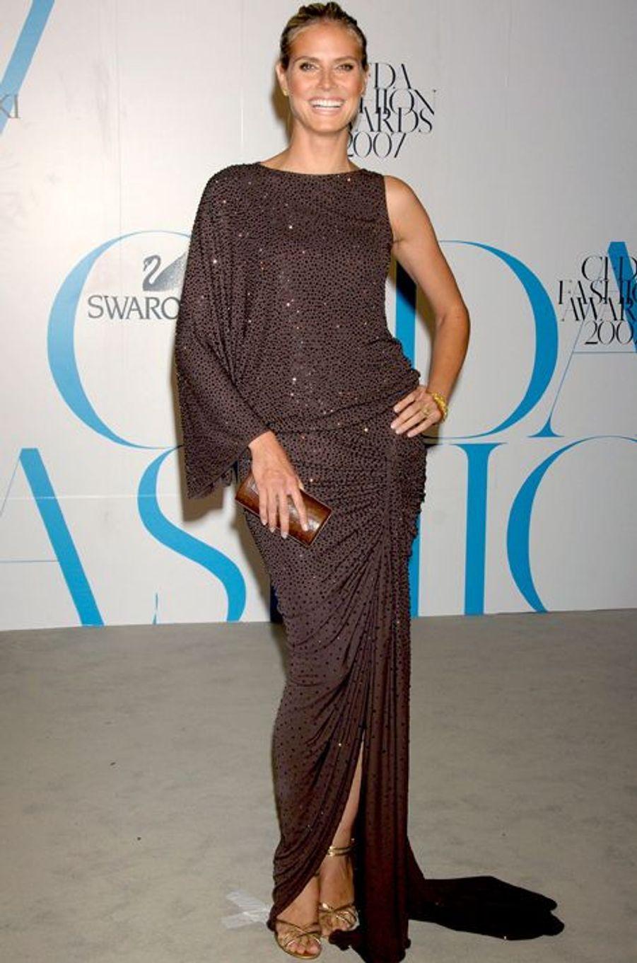 Aux CFDA Fashion Awards, en juin 2007