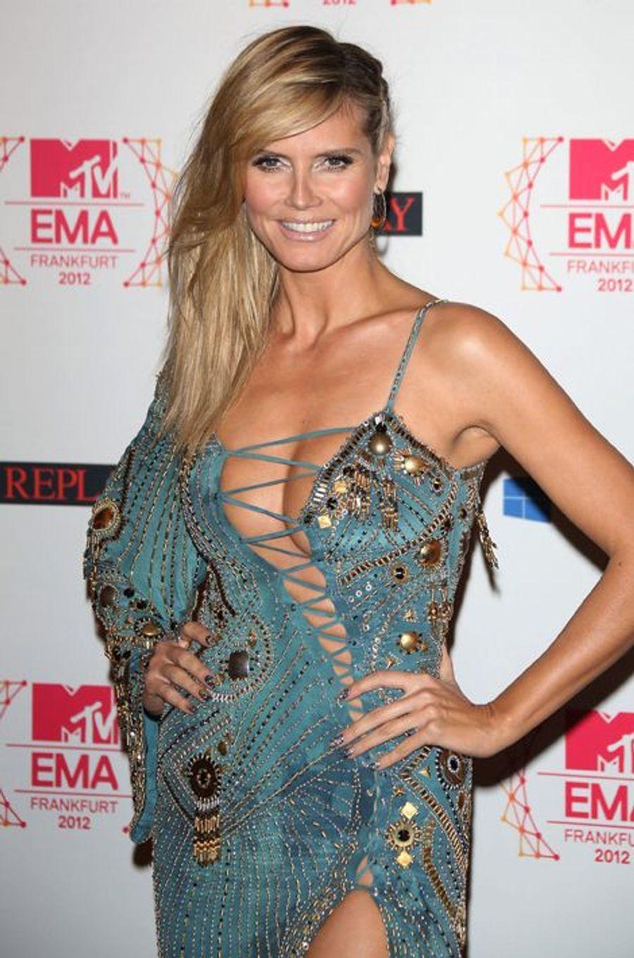 Aux MTV Europe Music Awards en novembre 2012