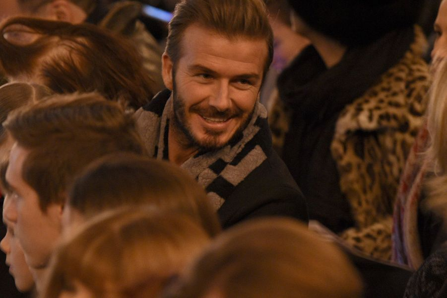 David Beckham à New York le 14 février 2016