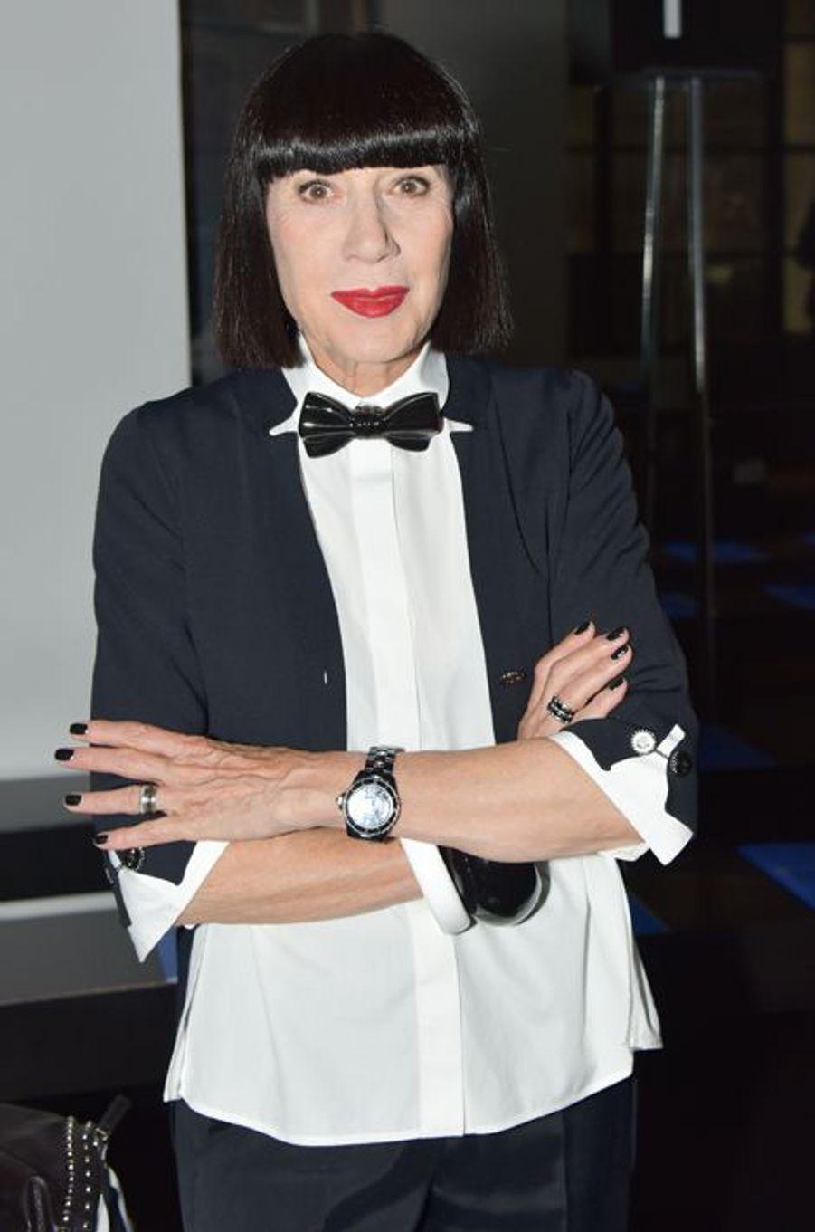 Chantal Thomass à Paris le 7 juillet 2015