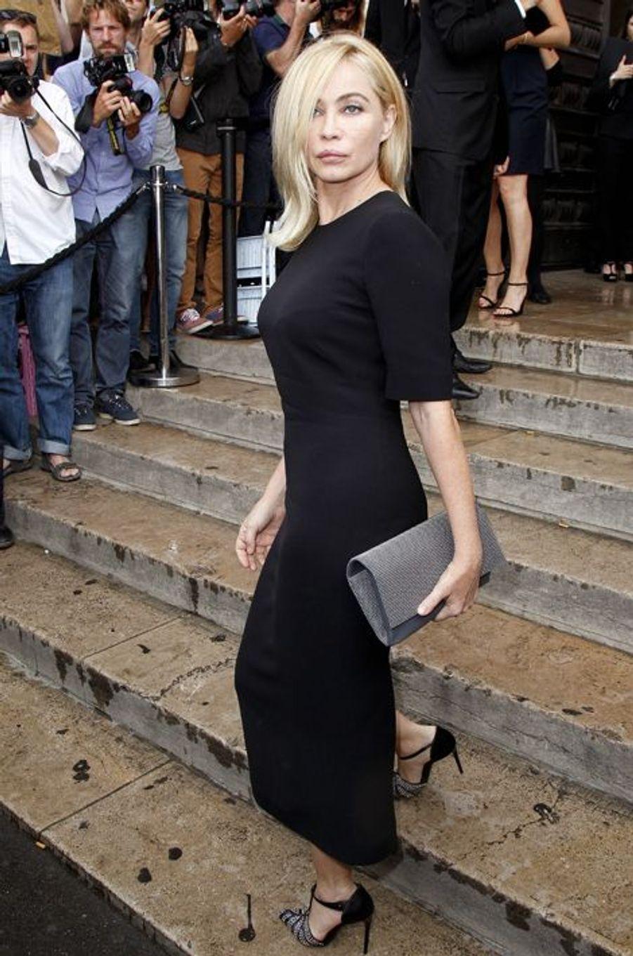 Emmanuelle Béart à Paris le 7 juillet 2015