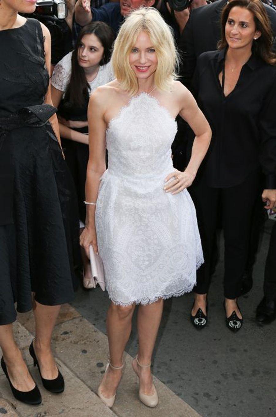 Naomi Watts à Paris le 7 juillet 2015