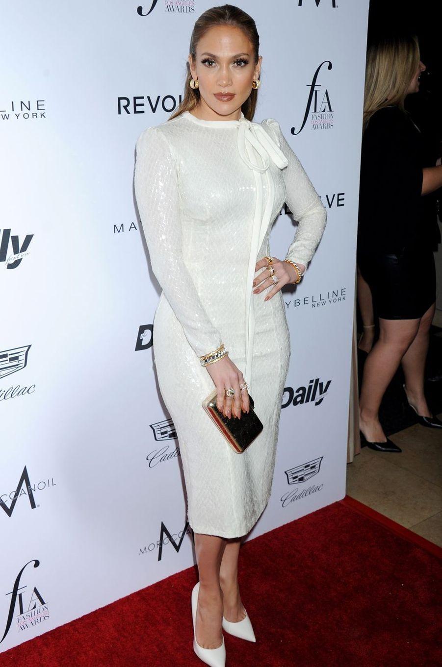 Jennifer Lopez à Los Angeles le 20 mars 2016