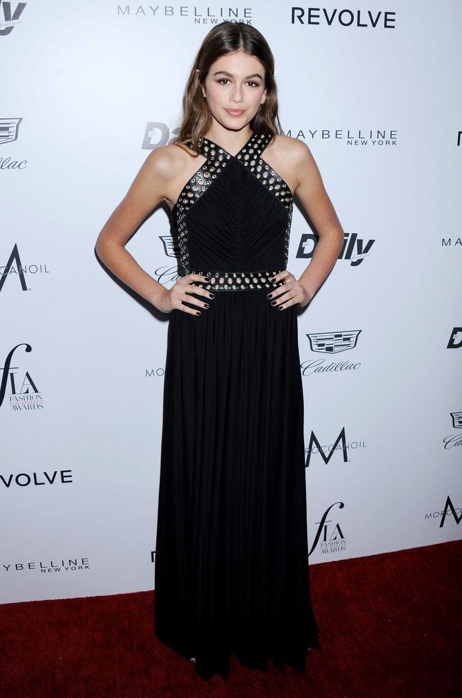 Kaia Gerber à Los Angeles le 20 mars 2016
