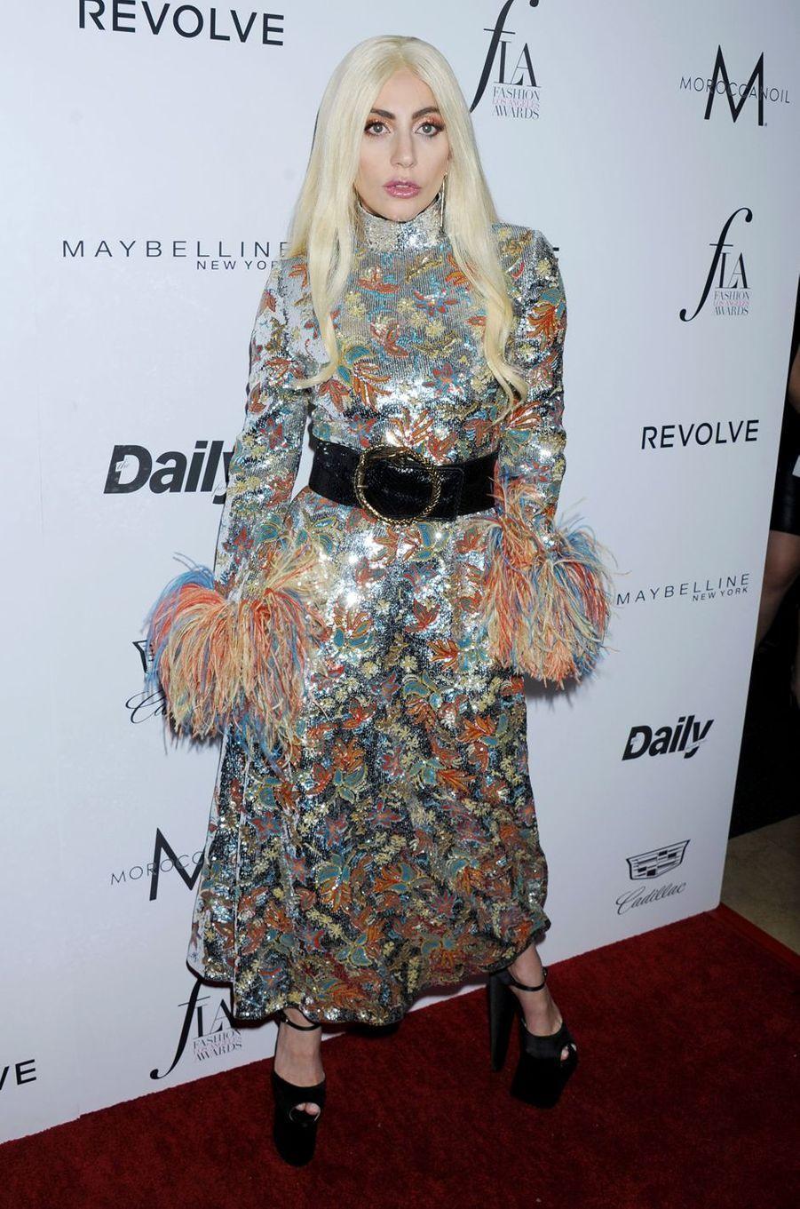 Lady Gaga à Los Angeles le 20 mars 2016