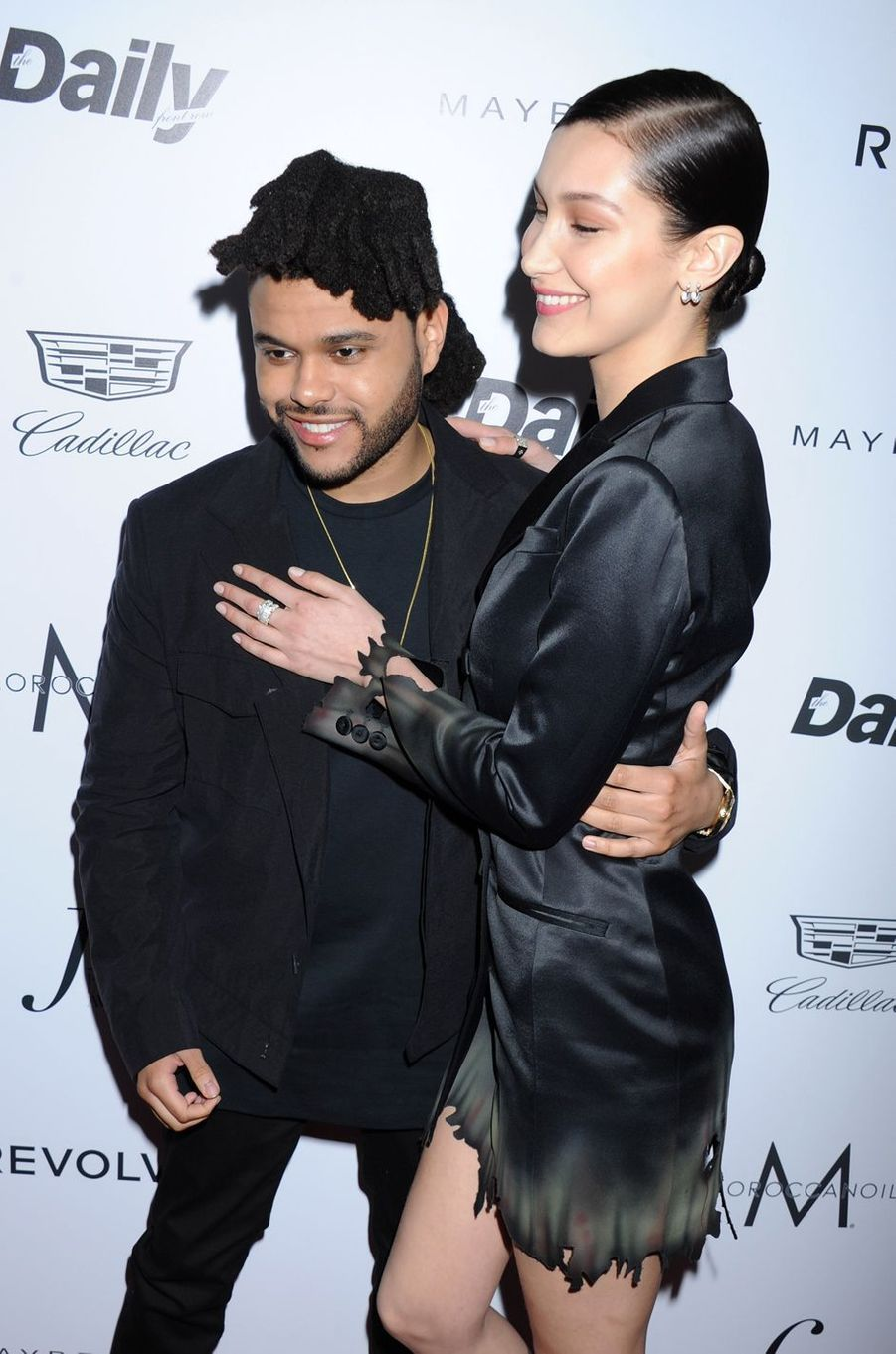 The Weeknd et Bella Hadid à Los Angeles le 20 mars 2016