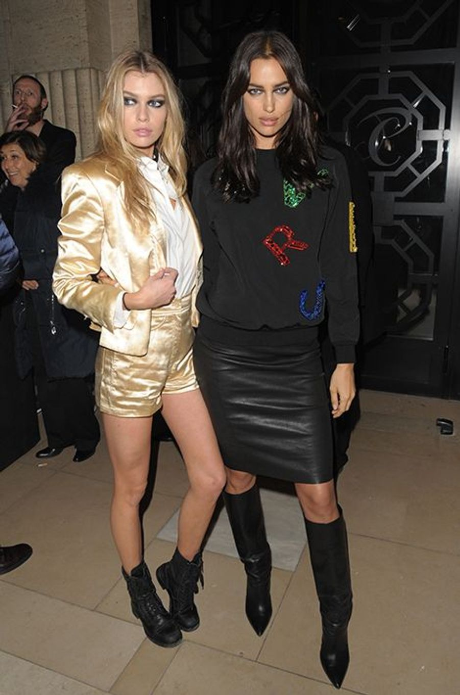 Stella Maxwell et Irina Shayk