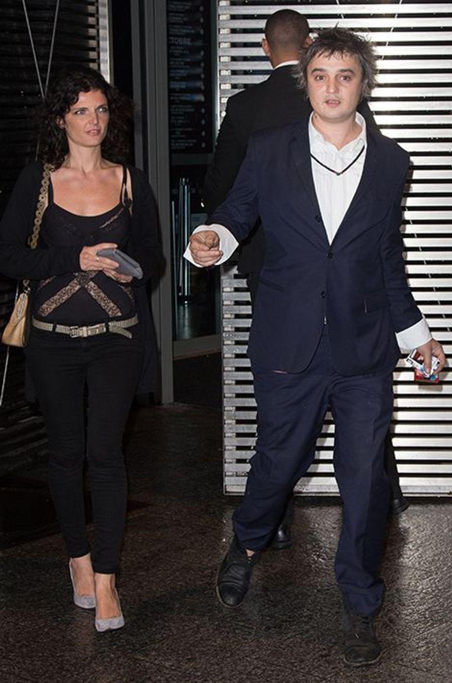 Pete Doherty et sa compagne