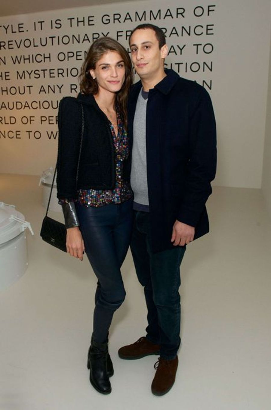 Elisa Sednaoui et Alex Dellal
