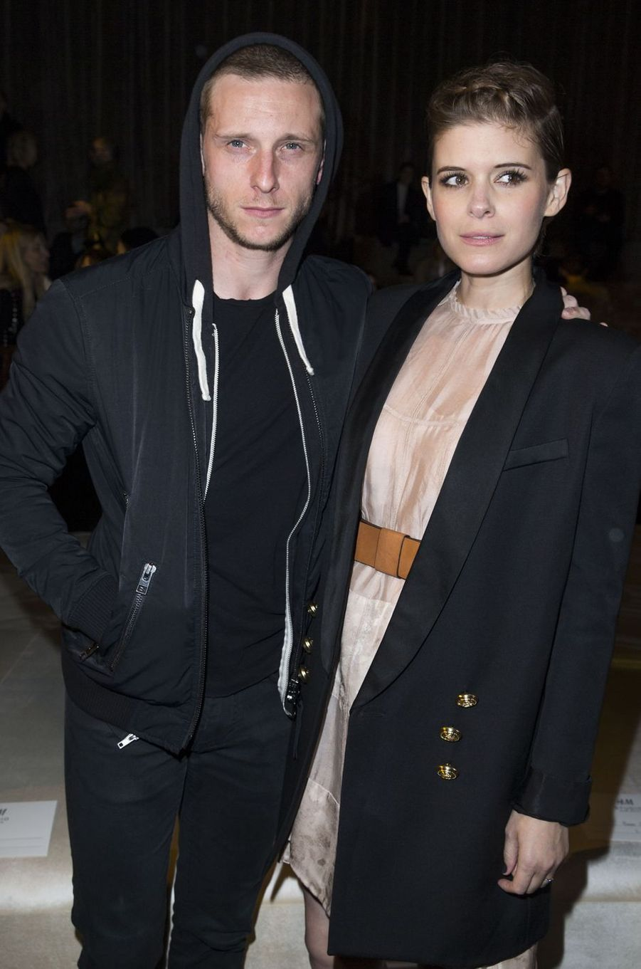 Jamie Bell et Kate Mara à Paris le 2 mars 2016