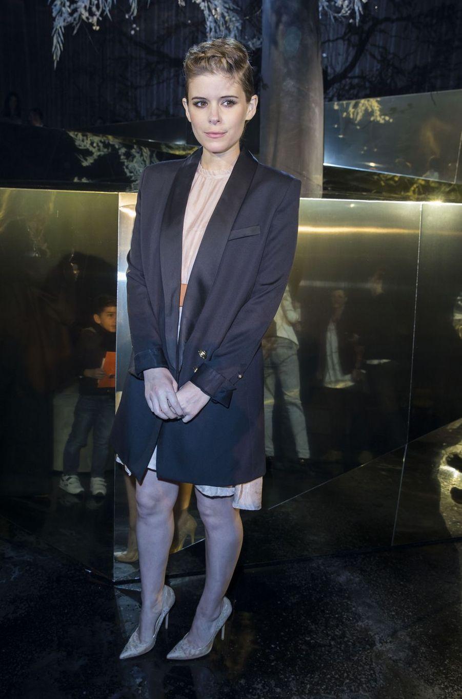Kate Mara à Paris le 2 mars 2016
