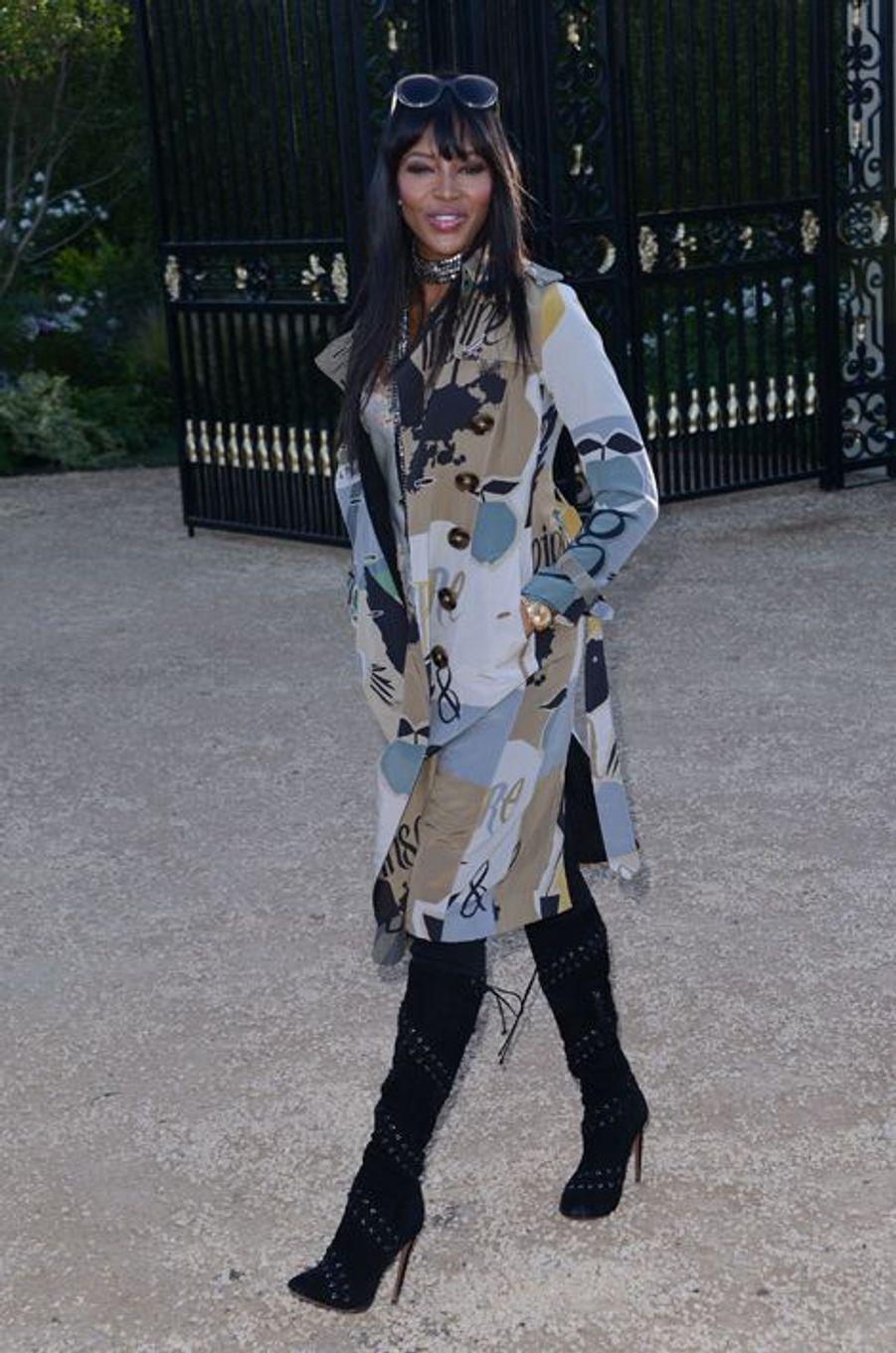 Naomi Campbell à Los Angeles le 16 avril 2015