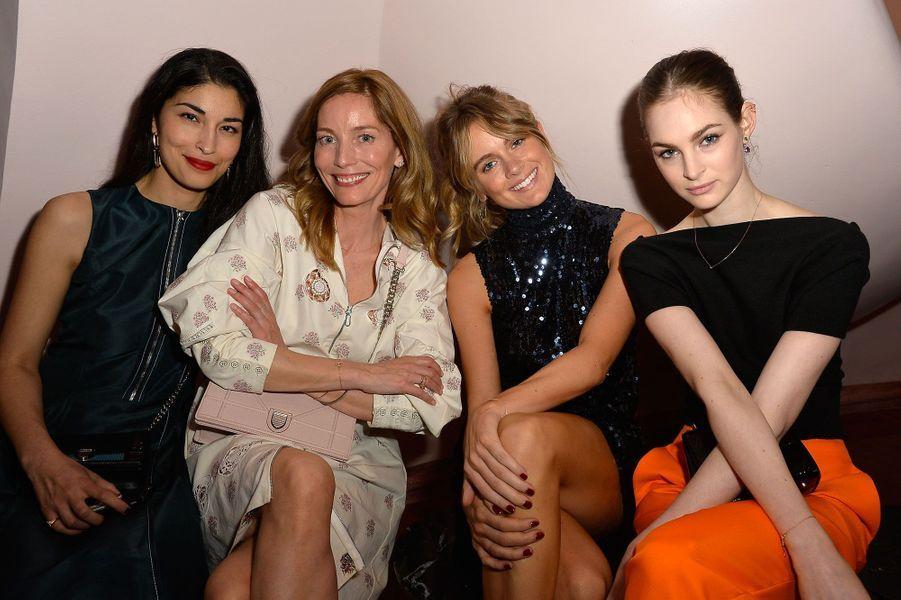 Caroline Issa, Lucie de la Falaise, Cressida Bonas, Laura Love