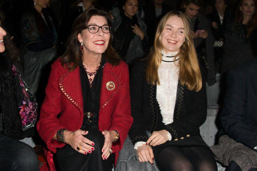 Caroline de Monaco et sa fille, Alexandra de Hanovre