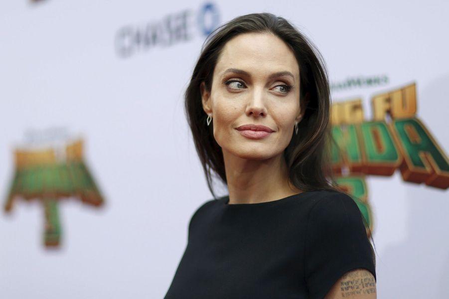 Angelina Jolie en janvier 2016.