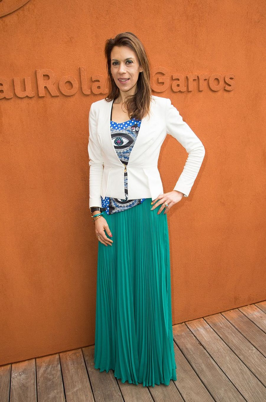 Marion Bartoli à Roland Garros, mai 2016