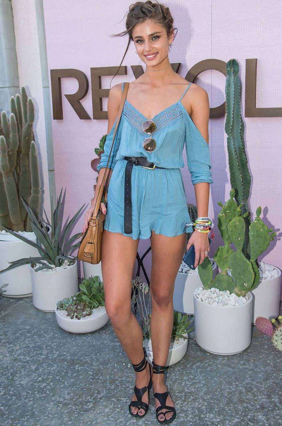 Taylor Hill, mannequin star de la marque Victoria's Secret, 2016
