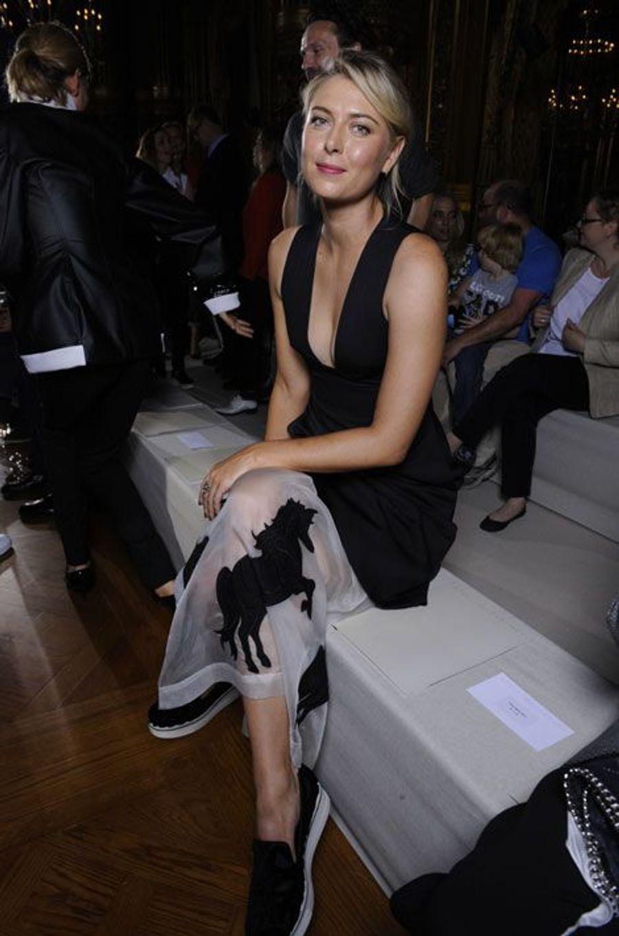 Maria Sharapova au défilé Stella McCartney