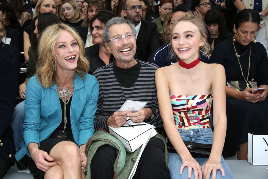Vanessa Paradis, Jean-Paul Goude et Lily-Rose Depp