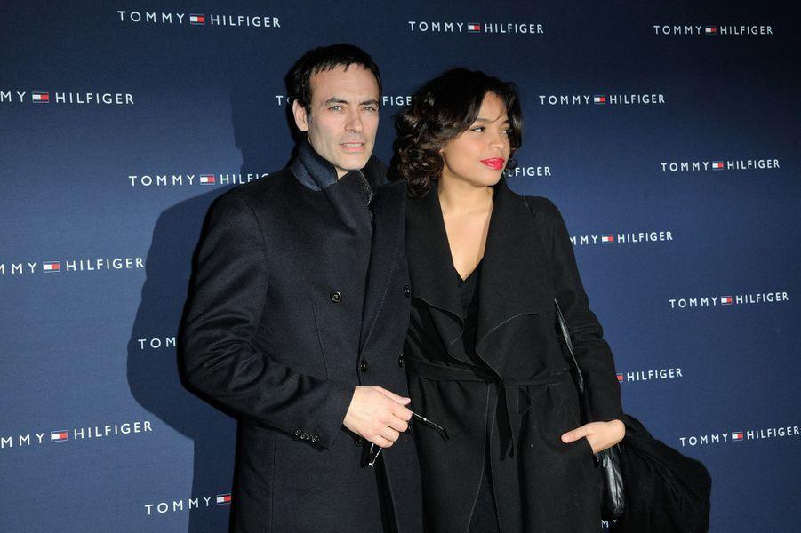 Anthony Delon et Jina Djemba à Paris le 31 mars 2015