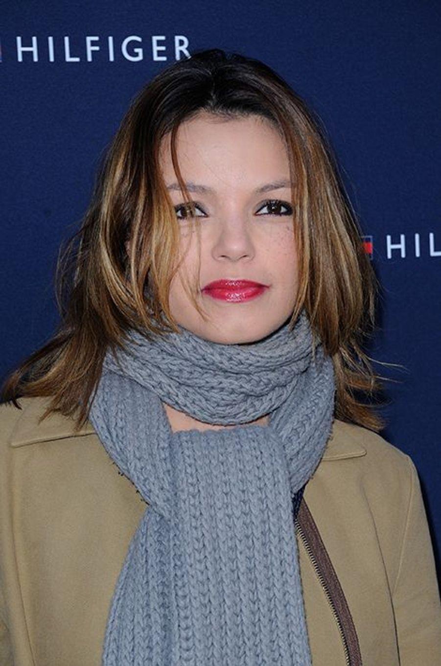 Séverine Ferrer à Paris le 31 mars 2015